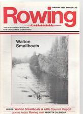 ROWING MAGAZINE - January 1987