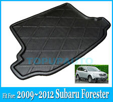 FIT FOR 2009~2012 SUBARU FORESTER REAR TRUNK CARGO LINER BOOT MAT TRAY 2010 2011