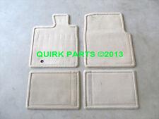 2005-2008 Ford F-150 Carpeted Floor Mats Lariat Pebble Tan OEM 8L3Z1613300GA