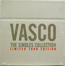 "VASCO ROSSI  ""THE SINGLES COLLECTION""  box  cd single lim.edition sigillato"