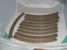 10 HORNBY OO DUBLO 3 RAIL CURVES OF TRACK RAILS ALL IN USED SEE PICS