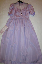 1900 Victorian Edwardian Dickens dress gown COSTUME size 18 lavender Music Man