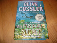 The NUMA Files: The Pharaoh's Secret by Graham Brown and Clive Cussler - Signed