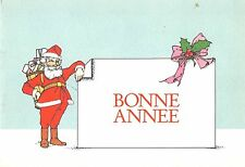 BR21009 bonnee anne new year santa claus mistletoe   france