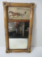 "Currier Ives LADY THORN Print Mirror ""The Celebrated Trotting Mare"" Maid Ashland"