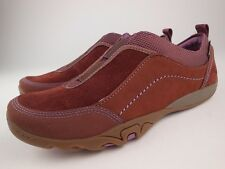 MERRELL Mimosa Cheer Cinnamon Nubuck Suede Slip On Loafers Shoes Sz 7 NEW
