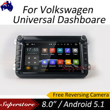 """8"""" Quad Core Android 5.1 Car DVD GPS Navi Head Unit For Volkswagen VW Universal"""