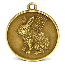 "YEAR of the RABBIT GOOD LUCK CHARM 1"" Chinese Zodiac  HIGH QUALITY Horoscope"