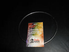 "TANDY LEATHER 5"" METAL HOOP RING FOR ART & CRAFTS.  SOLID."