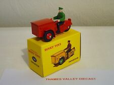 ATLAS EDITIONS DINKY TOYS, 14, TRIPORTEUR, RED, + CERT OF AUTH