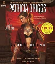 Blood Bound by Patricia Briggs (2015, CD)