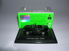 Welly Mercedes-Benz SL500 / SL 500 Cabrio nero, 1:87 H0 nuovo + OVP