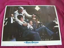 THE FINAL OPTION 1983 Movie Poster Lobby Card #8 Action Drama