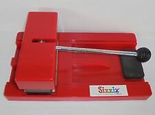 Sizzix Personal Die Cut Cutter Original Provo Craft Red Machine