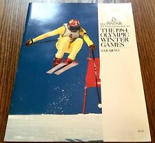 The Pindar TV viewer's guide to 1984 Olympic Winter Games SARAJEVO
