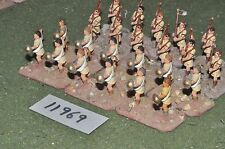25mm ancient indian slingers 24 figures (11969)