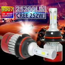 CREE HB5 9007 252W 25200LM LED HEADLIGHT Kit HIGH/LOW BEAM WHITE 6500K BULBS US