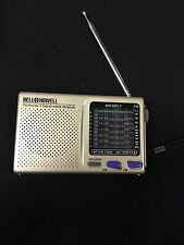 Bell & Howell Shortwave Radio FM MW SW 9 Band World Receiver MW.SW1-7