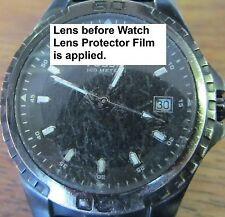Watch/Screen/Lens/Crystal/Face/Protector/Anti-scratch/Protection. Set of 2 Film