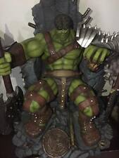 Halimaw Hulk On Throne Custom Statue