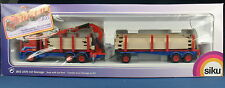 Siku 3812-DAF 95-camión hängerzug con grúa y garaje-en OVP - 1:55
