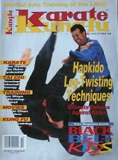 10/96 KARATE KUNG FU LES CONNARD MAS OYAMA HAPKIDO BLACK BELT MARTIAL ARTS
