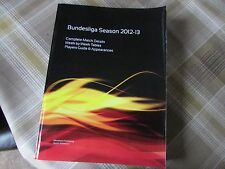 BUNDESLIGA Season 2012-13 Complete Match & Players Guide Silverthorn PB Book
