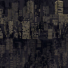 City Look Contact Paper Wallcovering Self Adhesive Wallpaper Peel and Stick