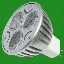 10x 9w (3x3w) Regulable Led Mr16 Gu5.3 12v Spot Luz Bombillas Luz Blanco Lámparas