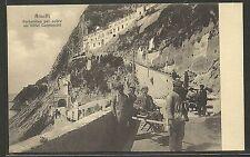 Amalfi - Salerno - Portantina per salire all' Hotel Cappuccini - Molto Animata