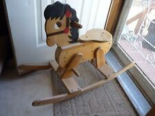 Wood Rocking Horse - Toddler size  LOCAL PICKUP ONLY