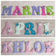 Personalised Child Kids Wall Door Art Wooden Letter Plaque Gift Any Name/Theme