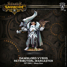 Warmachine BNIB - Scyrah - Retribution Warcaster Dawnlord Vyros Nyarr