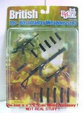 Barrack Sergeant FALKLANDS WAR British Weapon Set 3 SAS Para SBS RM DRAGON 1/6