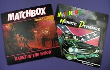 Matchbox  7 inch Singles- Midnite Dynamos 1980 & Babes In The Wood 1981  EXC/EXC