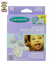 Lansinoh Breastmilk Storage Bags, BPA Free, 25-Count