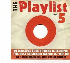 (FP886) The Playlist Vol 5, 12 tracks various artists - 2006 CD