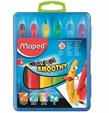 Helix Maped couleur peps Smoothy gel crayons aquarelle Papeterie École Couleur