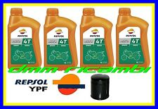 Kit Tagliando HARLEY DAVIDSON 883 1200 1340 1450 + Filtro Olio REPSOL 20W/50 MA2