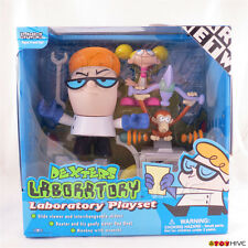 Dexters Laboratory Playset box set with Dee Dee and Monkey from Cartoon Network