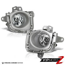 2010-2011 Toyota Prius Crystal Clear Replacement Bumper Fog Lights Lamps+Wiring