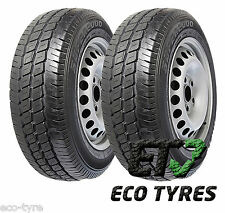2X Tyres 235 65 R16C 121/119T 10PR House Brand Extra Load E C 72