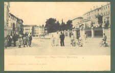 Veneto. CONEGLIANO, Treviso. Corso Vittorio Emanuele. Cartolina d'epoca non viag