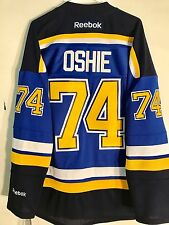 Reebok Premier NHL Jersey St.Louis Blues T.J. Oshie Blue sz XL