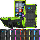 New Shockproof Hybrid Armor Hard Case Cover Stand For Microsoft Lumia 640 640 XL