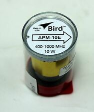 Bird APM-16 Wattmeter Element APM-10E DPM-10E 400-1000  MHz 10 Watts (New)