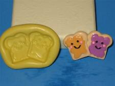 Peanut Butter & Jelly Toast Push Mold Food Safe Silicone A167 Cupcake Candy Soap