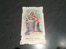 IMAGE PIEUSE HOLY CARD SANTINI CANIVET .1931 guyans durnes.