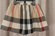 BURBERRY CHECK NEW CLASSIC SKIRT 4Y