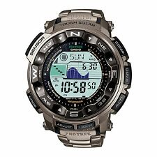Men's Casio Atomic Solar Pro Trek Watch PRW2500T-7 Titanium Band NEW Mfg Sealed